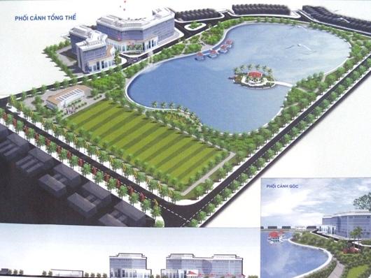 Hà Nội  bàn giao quy hoạch chi tiết khu vực hồ Sen, quận Long Biên