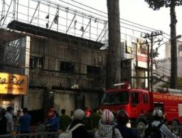 Cháy lớn tại Trung tâm điện máy Sony tại TPHCM