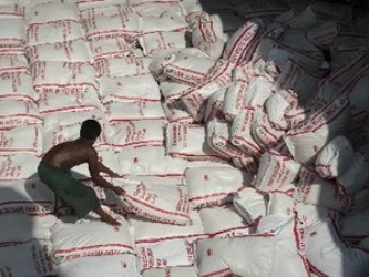 Campuchia khó đạt mục tiêu xuất khẩu 1 triệu tấn gạo vào năm 2015