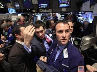 Chứng khoán Mỹ giảm sau biên bản họp của Fed