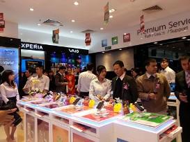 Sony đặt cược vào thị trường IT và di động Việt Nam
