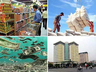 Tổng hợp tin kinh tế vĩ mô nổi bật tuần đầu năm 2013