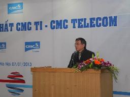 CMC TI hợp nhất với CMC Telecom