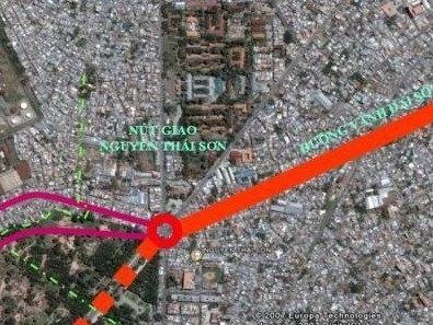 Đưa vào sử dụng một đoạn đường nối Tân Sơn Nhất-Bình Lợi-Vành đai ngoài vào 30/6/2013