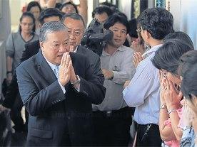 Thị trưởng Bangkok chính thức từ chức
