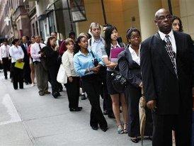 Số đơn xin trợ cấp thất nghiệp Mỹ cao nhất 1 tháng