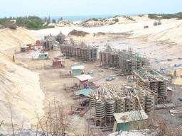 Vụ tranh chấp mỏ Titan: Chủ tịch tỉnh cảnh cáo Chủ tịch công ty ĐTKS -TM Bình Thuận