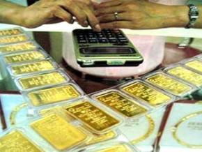 Vàng giảm liên tục, xuống còn 45,75 triệu đồng/lượng