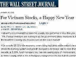 Wall Street Journal: