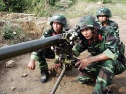 Chùm ảnh quân đội Việt Nam diễn tập sẵn sàng chiến đấu