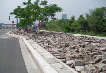 Sửa chữa nhiều hạng mục của dự án đại lộ Đông-Tây