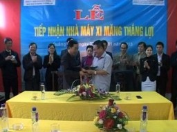 HVX tiếp nhận nhà máy xi măng Thắng Lợi