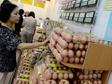 C.P thừa nhận tăng giá trứng thiếu hợp lý