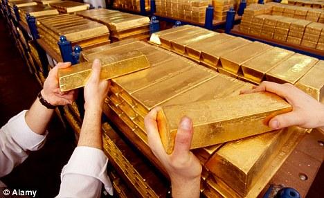Đức sẽ rút 674 tấn vàng dự trữ về nước