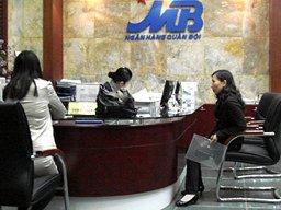 Tín dụng MB tăng trưởng 25,6% năm 2012