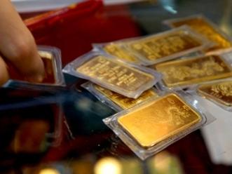Vàng lên 45,8 triệu đồng/lượng