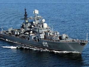 Tàu chiến Nga ghé Syria thực hiện nhiệm vụ đặc biệt