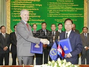ADB cho Campuchia vay 230 triệu USD