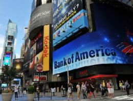 Lợi nhuận quý IV/2012 của Bank of America giảm mạnh