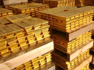 Giá vàng tăng phiên đầu tuần tại châu Á