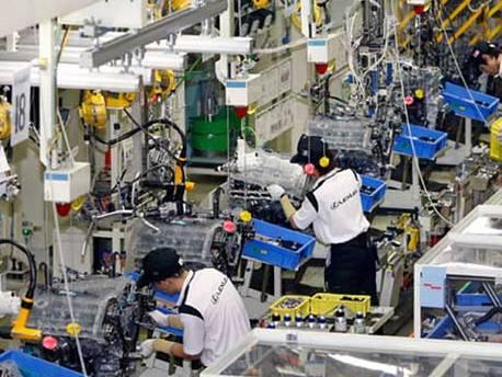 Sản xuất công nghiệp Hà Nội tháng 1 giảm mạnh