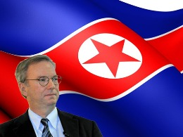 Hình ảnh chuyến đi Triều Tiên của chủ tịch Google