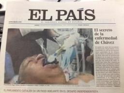 Báo Tây Ban Nha đưa ảnh giả về ông Hugo Chavez