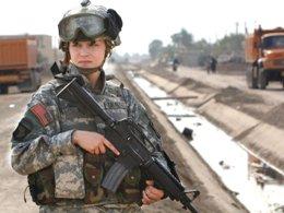 Mỹ cho phép phụ nữ tham chiến sau hơn 1 thập kỷ