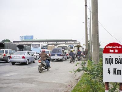 Dừng hoạt động trạm thu phí Vĩnh Thanh trước Tết