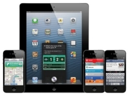 Gần 300 triệu iPhone, iPad và iPod touch chạy iOS 6