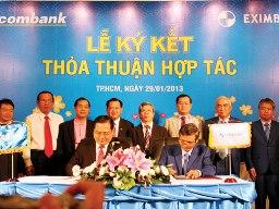 Eximbank - Sacombank hợp nhất phải được 65% cổ đông chấp thuận