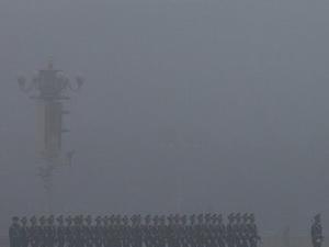 Trung Quốc tiếp tục chìm trong sương mù dày đặc
