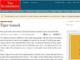 The Economist: Loại bỏ yếu kém trong hệ thống ngân hàng, Việt Nam sẽ thịnh vượng trở lại