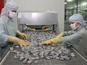 Xuất khẩu tôm tháng 1 ở Bạc Liêu tăng gấp năm lần