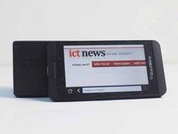 Hình ảnh đầu tiên của BlackBerry Z10 tại Việt Nam