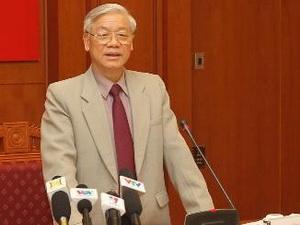 Tổng Bí thư công bố 5 Phó Ban Chỉ đạo Trung ương về phòng chống tham nhũng