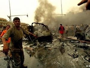 Iraq: Đánh bom liên hoàn, 93 người thương vong
