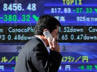Chứng khoán châu Á tăng mạnh khi G20 ủng hộ Nhật Bản kích thích kinh tế
