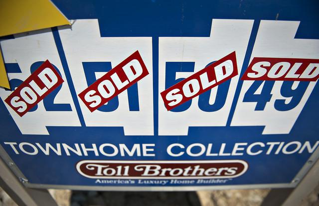 Giá nhà Mỹ tăng mạnh nhất hơn 6 năm qua