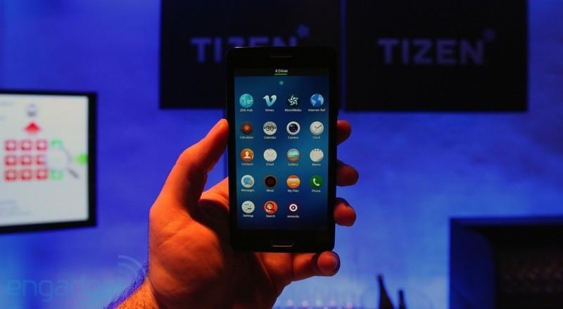 Samsung chính thức công bố điện thoại chạy Tizen