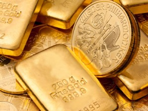 Giá vàng giảm 1% do lo Mỹ giảm chi tiêu ngân sách