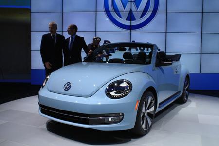 Hãng xe hơi Volkswagen đạt lợi nhuận kỷ lục trong năm 2012