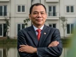 Ông Phạm Nhật Vượng là người Việt Nam đầu tiên lọt vào danh sách tỷ phú giàu nhất thế giới