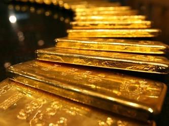 Giá vàng gần cao nhất 2 tuần tại châu Á