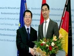 Tạo mọi điều kiện cho hợp tác thương mại Việt-Đức