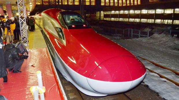 Nhật chính thức hoạt động tuyến tàu cao tốc nhanh nhất thế giới