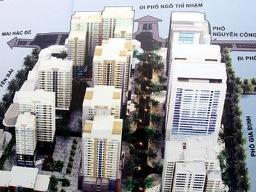 Hà Nội khởi công xây khu chung cư Nguyễn Công Trứ