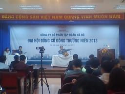 ĐHCĐ Hà Đô: Red River Holding phản đối ban lãnh đạo phát triển ngành nghề mới