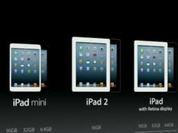 Apple bị từ chối cấp bản quyền thương hiệu iPad mini