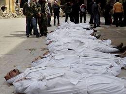 Tháng 3 trở thành tháng đẫm máu nhất tại Syria
